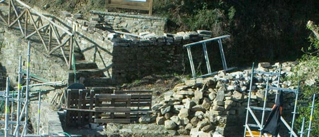 Γεφύρι της Πλάκας: Στην τελική ευθεία για το άνοιγμά του (εικόνες)