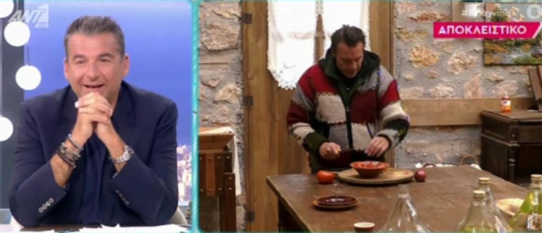 """""""Η Φάρμα"""": καυγάς για μια ντομάτα και ένα… """"σ΄ αγαπάω"""" (αποκλειστικό βίντεο)"""