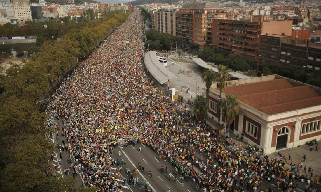 Βαρκελώνη - διαδηλώσεις