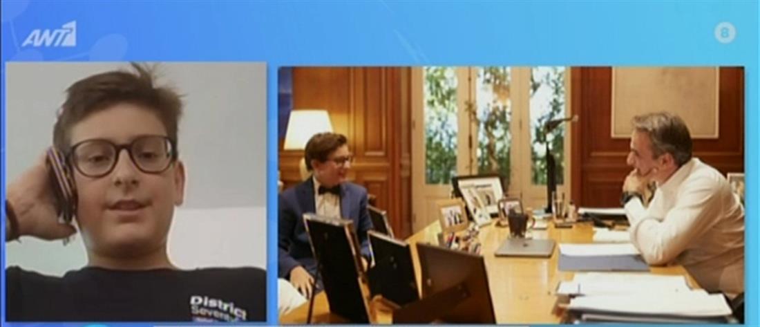 Δεσποτίδης στον ΑΝΤ1: τιμή και χαρά μου που συνάντησα τον Πρωθυπουργό (βίντεο)