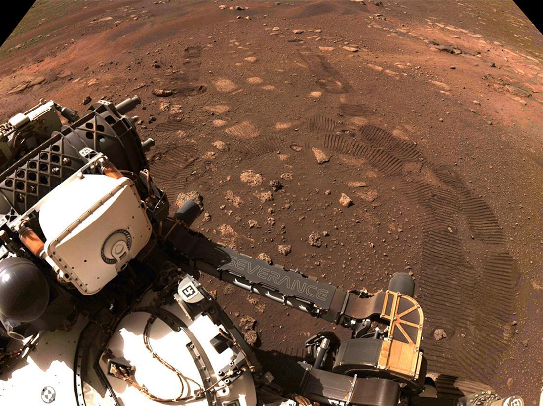 AP - NASA - Perseverance - Άρης