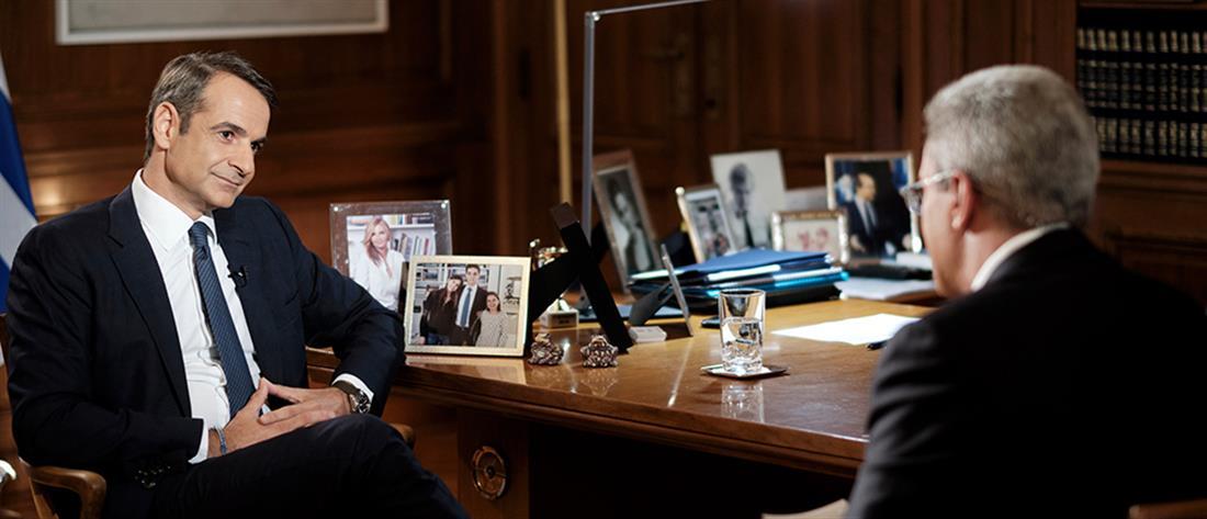 """""""Ενώπιος Ενωπίω"""": ο """"διαφορετικός"""" Κυριάκος Μητσοτάκης... μίλησε για όλα στον Νίκο Χατζηνικολάου (εικόνες)"""