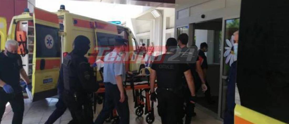 Νίκος Παλαιοκώστας: ξανά στο νοσοκομείο ο βαρυποινίτης (βίντεο)