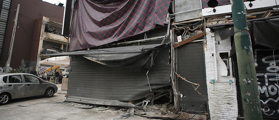 Έκρηξη σε sex shop στο κέντρο της Αθήνας (βίντεο)