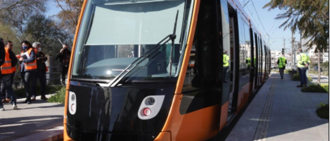 """Στις ράγες το τραμ στη γραμμή """"Μπάτης"""" - ΣΕΦ (εικόνες)"""
