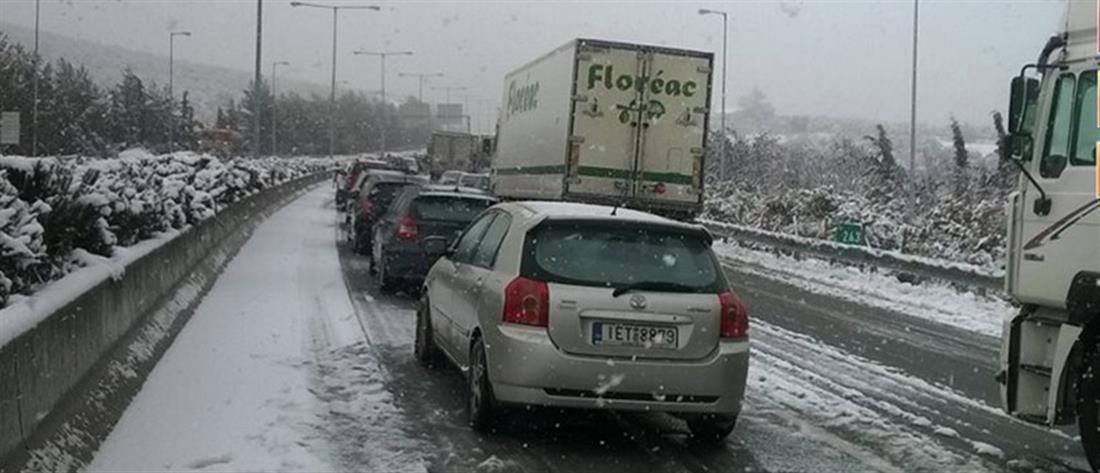 """""""Λέανδρος"""": απαγόρευση κυκλοφορίας φορτηγών σε τμήμα της Αθηνών - Λαμίας"""