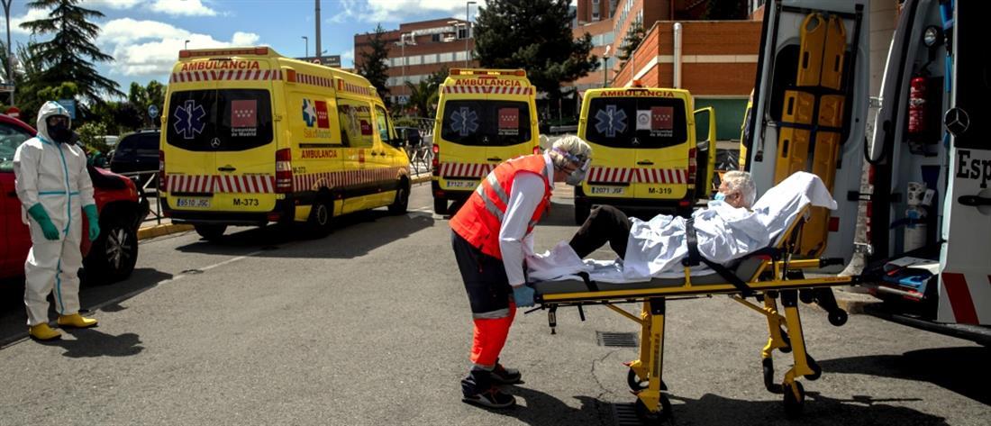 Κορονοϊός-Ισπανία: Νέα άνοδος του ημερήσιου αριθμού θανάτων
