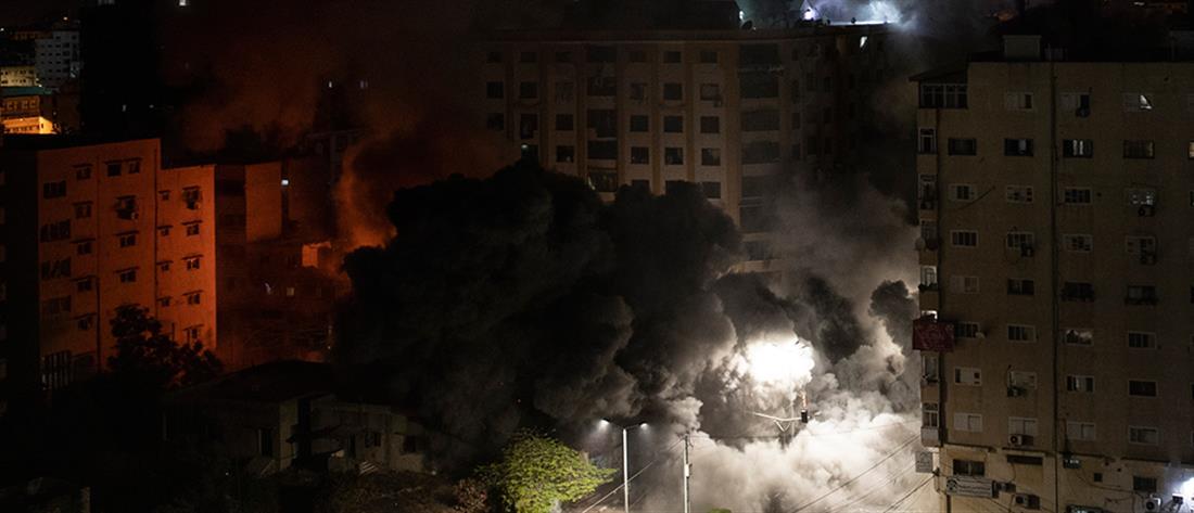 Μεσανατολικό: σφυροκοπείται η Γάζα, ομοβροντία ρουκετών στο Τελ Αβίβ