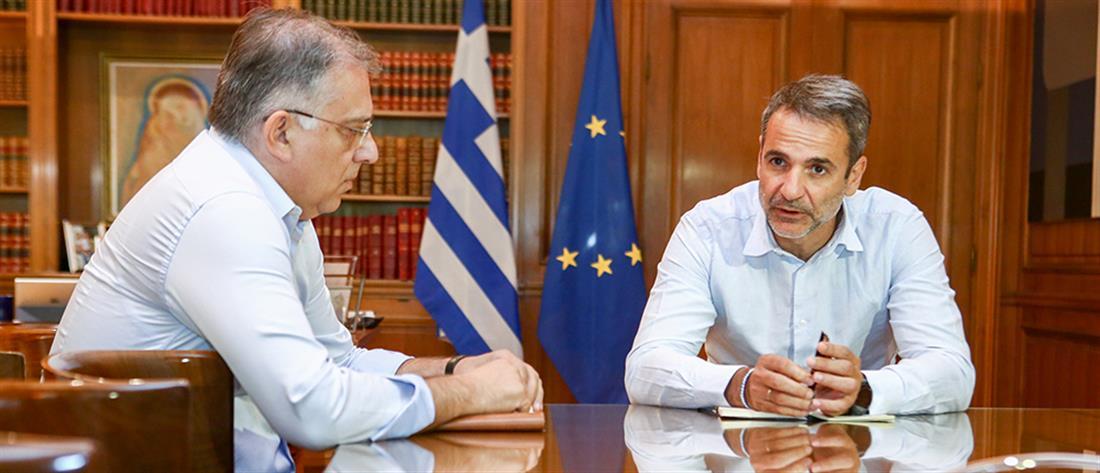Μητσοτάκης: να εκφράζεται έμπρακτα η ευρωπαϊκή αλληλεγγύη σε φυσικές καταστροφές