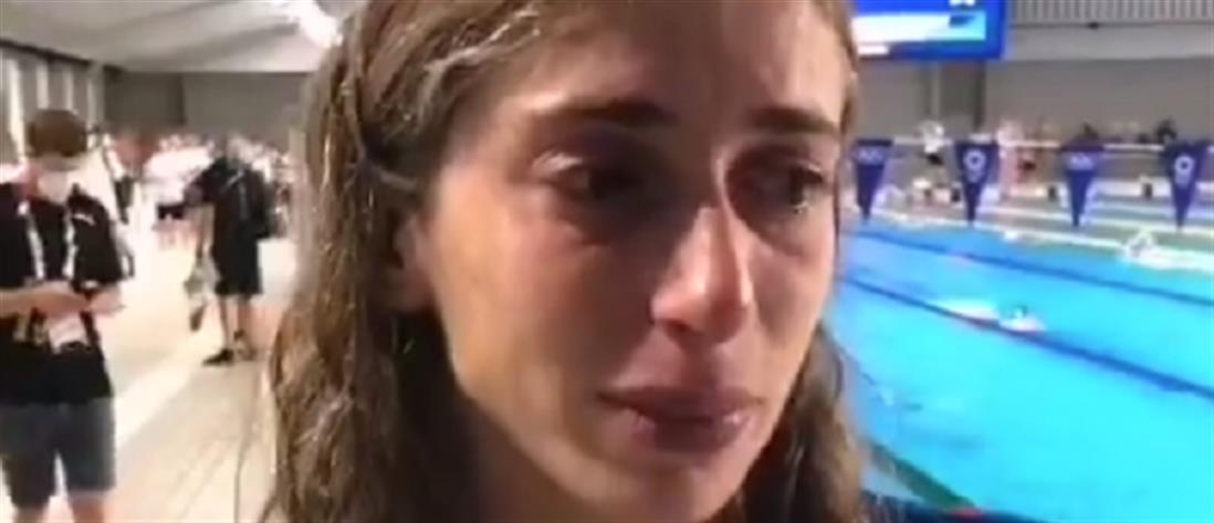 Ολυμπιακοί Αγώνες: Τα δάκρυα της Ντουντουνάκη για τον αποκλεισμό (βίντεο)