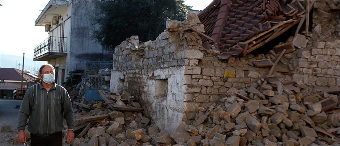 Σεισμός στην Ελασσόνα: Εκτεταμένοι έλεγχοι στα κτήρια που επλήγησαν (εικόνες)