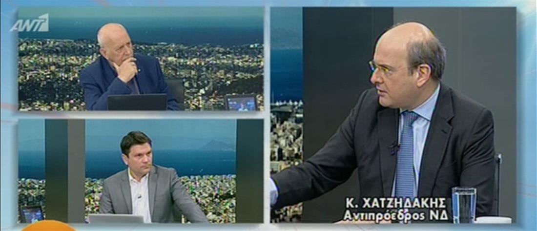 """Χατζηδάκης στον ΑΝΤ1: Γιατί ο Τσίπρας τους αναγκάζει όλους να λένε """"Είμαι Πολάκης""""; (βίντεο)"""