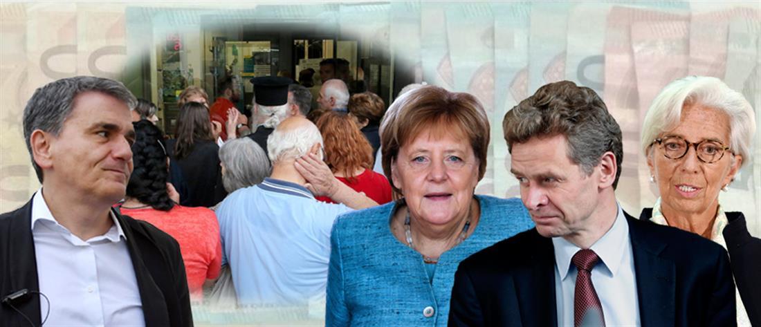 """Βρυξέλλες και Βερολίνο θα """"κρίνουν"""" την περικοπή των συντάξεων"""