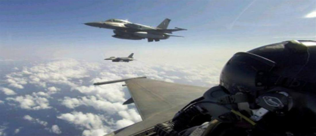 Εμπλοκή με τουρκικά μαχητικά στο Αιγαίο