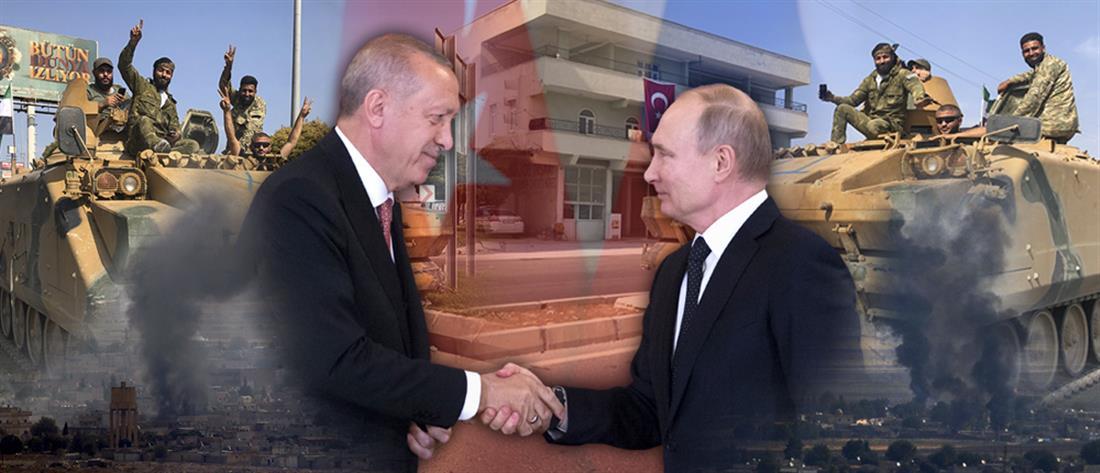 """""""Βρυχάται"""" ο Ερντογάν: θα """"χτυπήσουμε"""" αν οι Κούρδοι παραμείνουν κοντά στα σύνορα"""