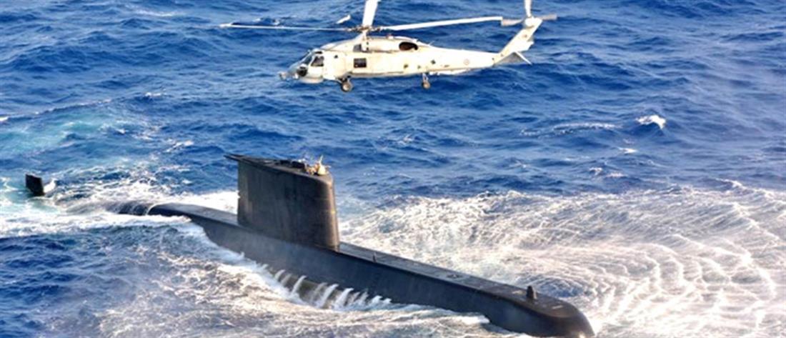 """Επίδειξη δύναμης από την Τουρκία με την """"Γαλάζια Φάλαινα"""" (βίντεο)"""