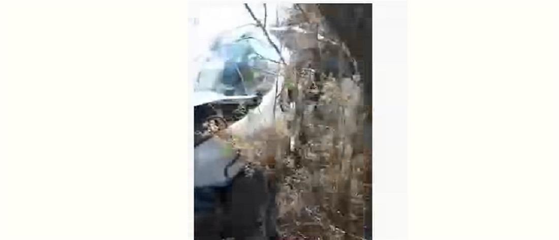 Ιεράπετρα: Μάνα και ανήλικη κόρη απεγκλωβίστηκαν μετά από τροχαίο (βίντεο)