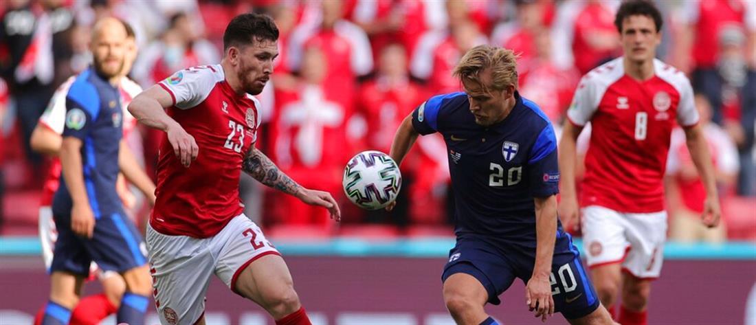 Euro 2020: Η Φινλανδία νίκησε τη Δανία, μετά το σοκ με Έρικσεν