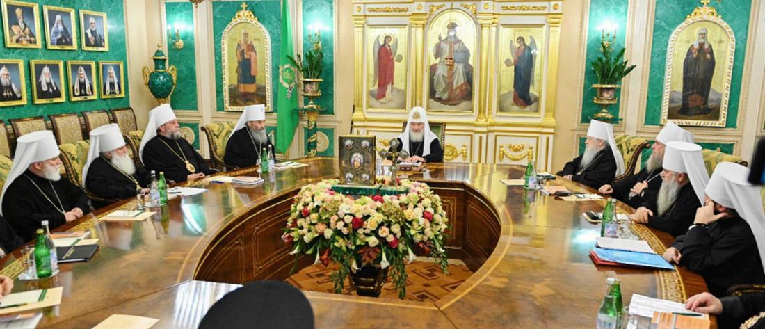 """Ρωσική Εκκλησία: """"απειλεί"""" με διαγραφή τον Αρχιεπίσκοπο Αθηνών Ιερώνυμο"""