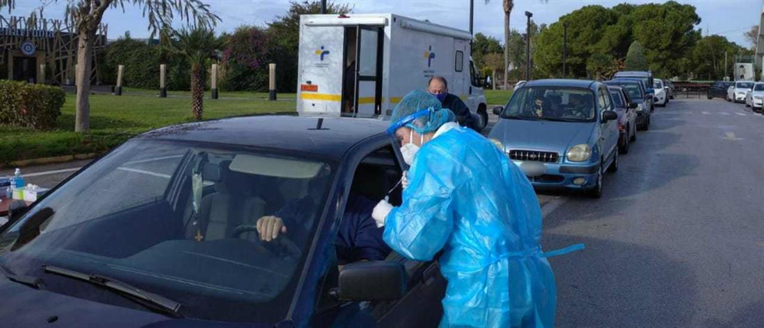 Κορονοϊός: Τι έδειξαν τα rapid test της Δευτέρας