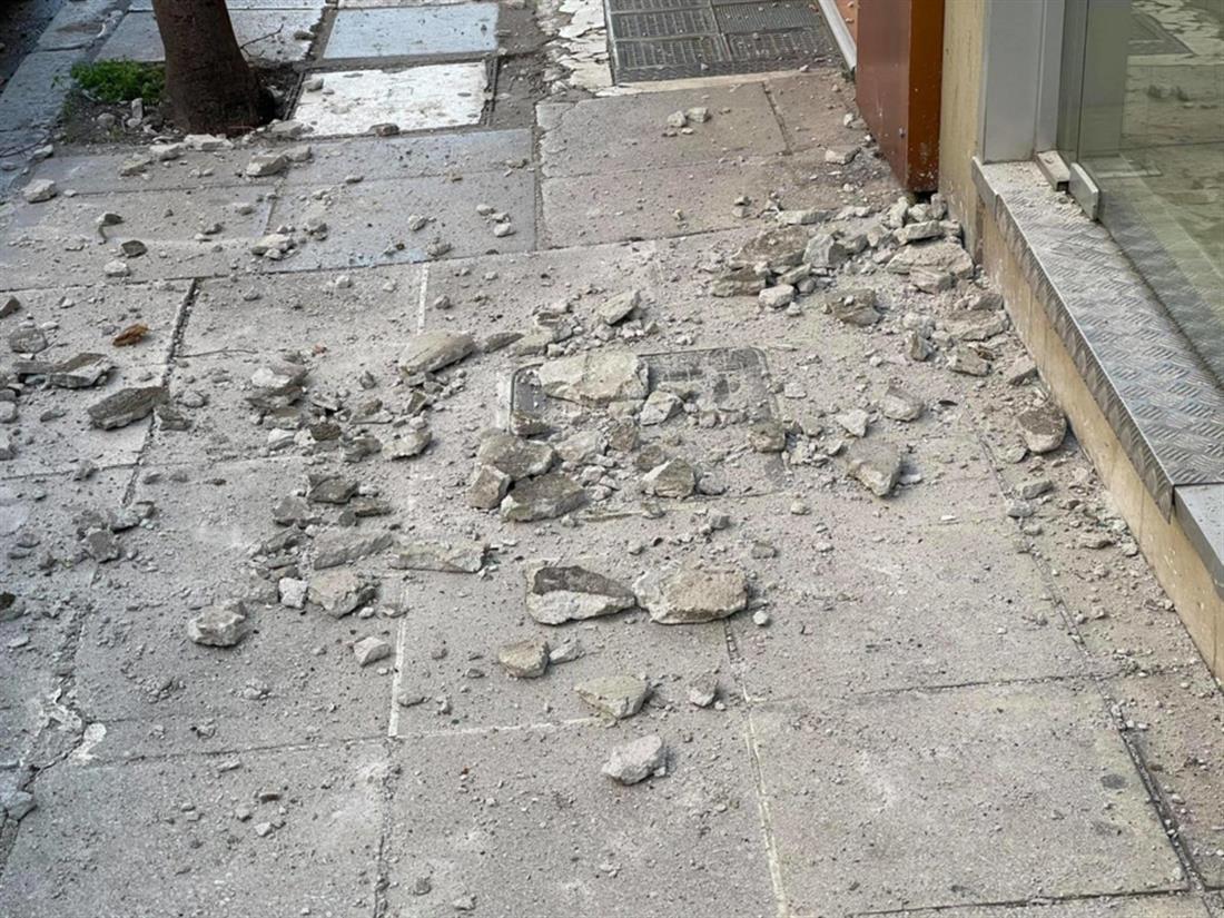 σεισμός - Λάρισα