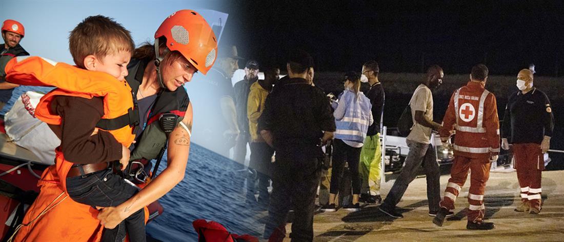 Ιταλία: διάσωση δεκάδων μεταναστών (βίντεο)