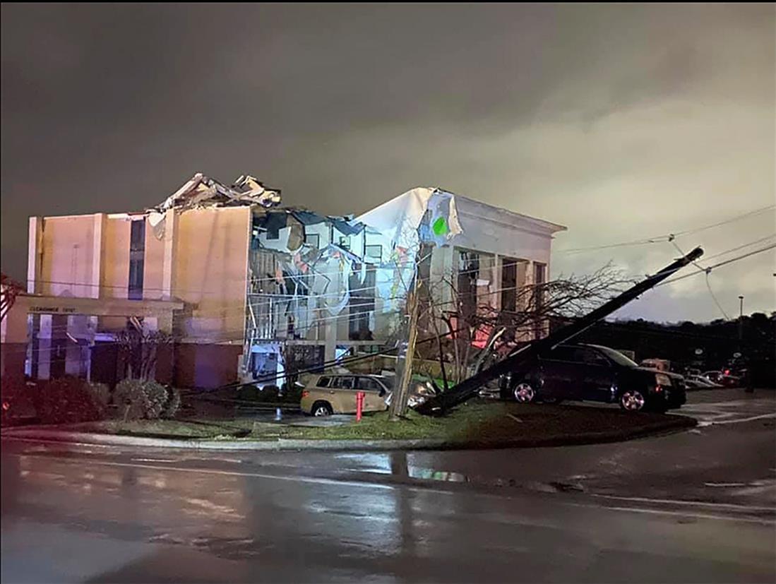 AP - Κυκλώνας - Αλαμπάμα