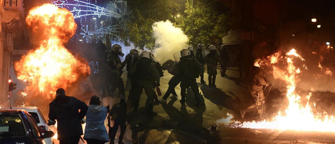 """Νέα κόντρα για τα Εξάρχεια, τα ΜΑΤ και την """"αστυνομική βία"""""""