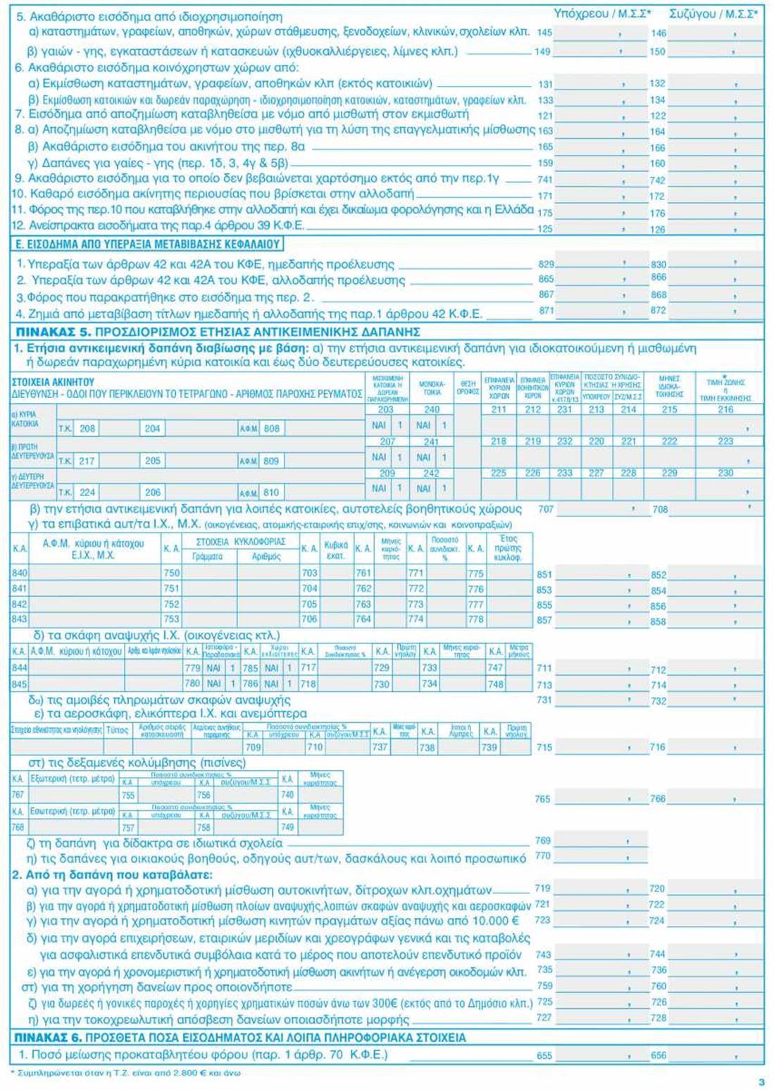 Φορολογικές δηλώσεις 2021 - Ε1 - σελ3