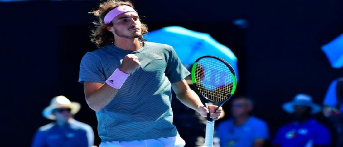Πρόκριση Τσιτσιπά στο διπλό στο Miami Open