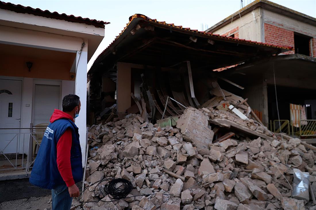 AP - Σεισμός - Ελασσόνα
