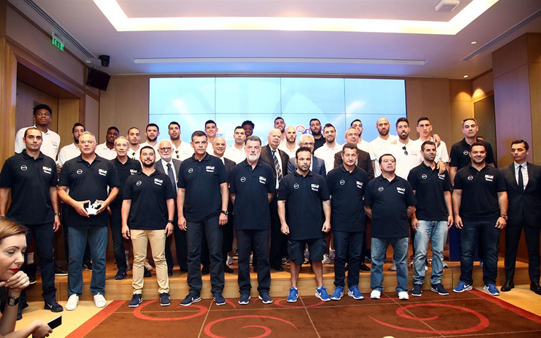 Εθνική Ομάδα Μπάσκετ - συνέντευξη Τύπου - παρουσίαση