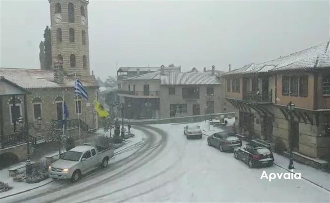 Χιόνια - Χαλκιδική