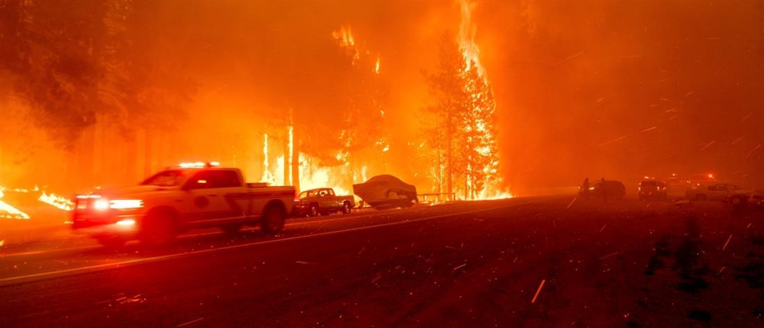 """ΗΠΑ: Πύρινη """"κόλαση"""" στην Καλιφόρνια (εικόνες)"""
