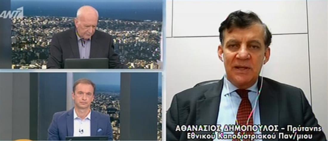 Δημόπουλος για self test στον ΑΝΤ1: είναι απολύτως ασφαλή (βίντεο)