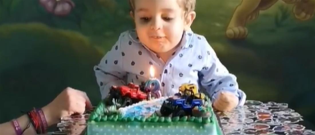 Παναγιώτης – Ραφαήλ: Tα γενέθλια, η τούρτα και το μήνυμα των γονιών του