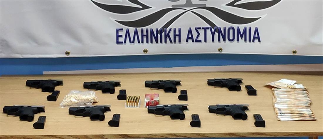 Συνελήφθη με όπλα και ναρκωτικά από την Τουρκία