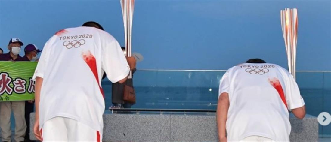 Ολυμπιακοί Αγώνες: Από ανακυκλωμένα μπουκάλια οι στολές των Ιαπώνων λαμπαδηδρόμων