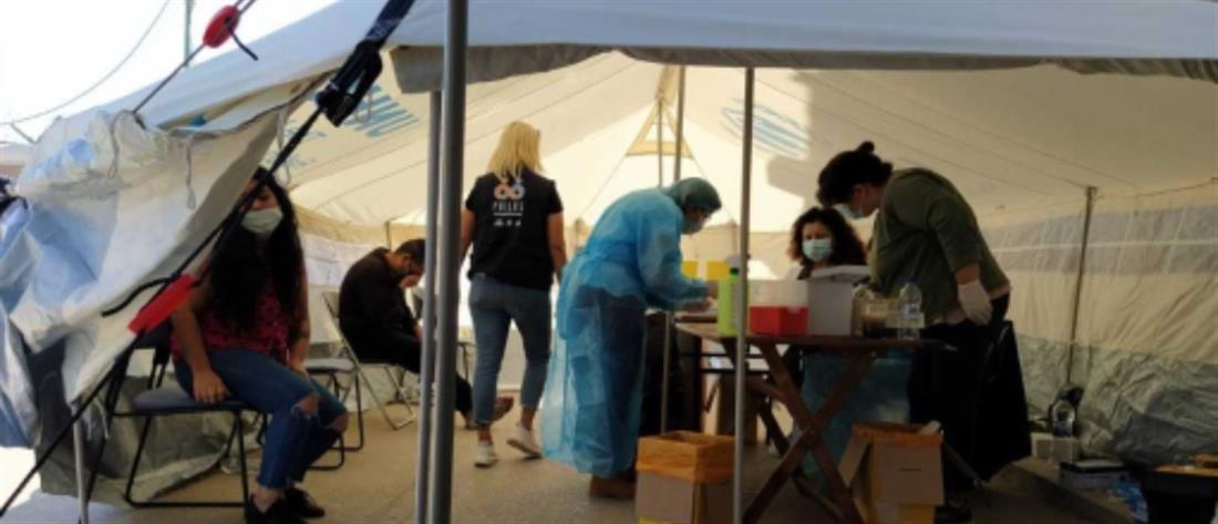 Κορονοϊός - ΕΟΔΥ: Rapid test στο ΚΥΤ ΒΙΑΛ Χίου