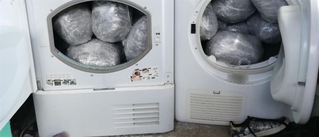 """""""Νοικοκυρές"""" έκρυβαν σε… στεγνωτήρια ρούχων δεκάδες κιλά χασίς! (εικόνες)"""