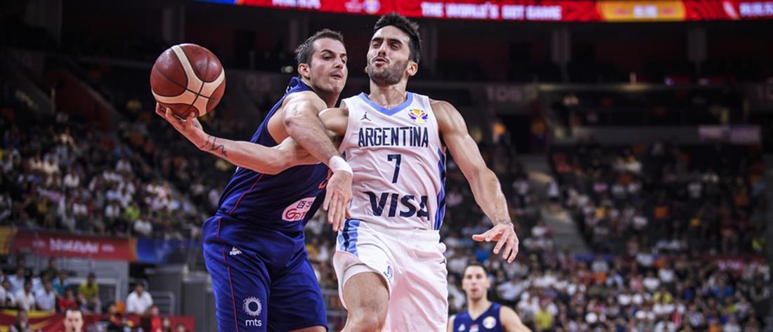 Μουντομπάσκετ: Η Αργεντινή απέκλεισε τη Σερβία