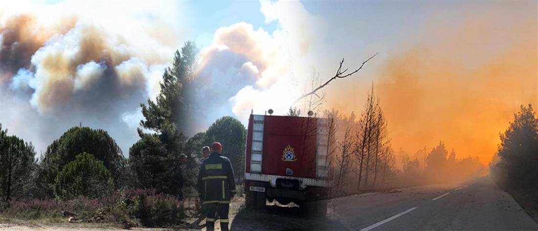 ΓΓΠΠ: πολύ υψηλός κίνδυνος πυρκαγιάς την Τετάρτη (χάρτης)