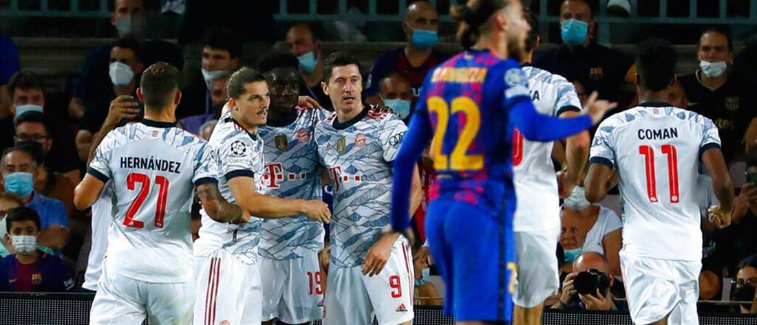 Champions League: Η Μπάγερν Μονάχου ταπείνωσε την Μπαρτσελόνα