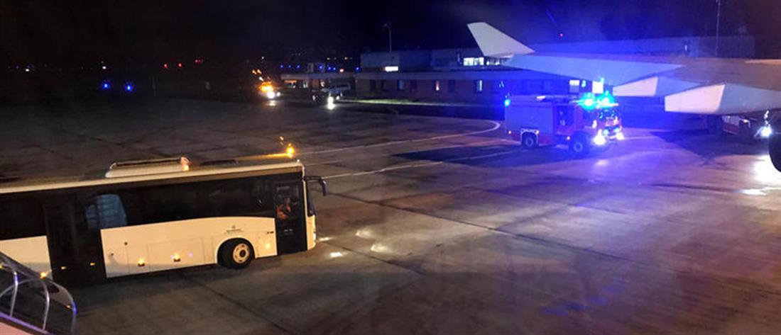 Αεροσκάφος συγκρούστηκε με αυτοκίνητο στα Χανιά!