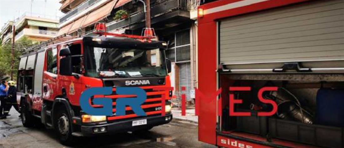 Φωτιά σε σούπερ μάρκετ - Κινδύνεψαν άνθρωποι και σπίτια (εικόνες)