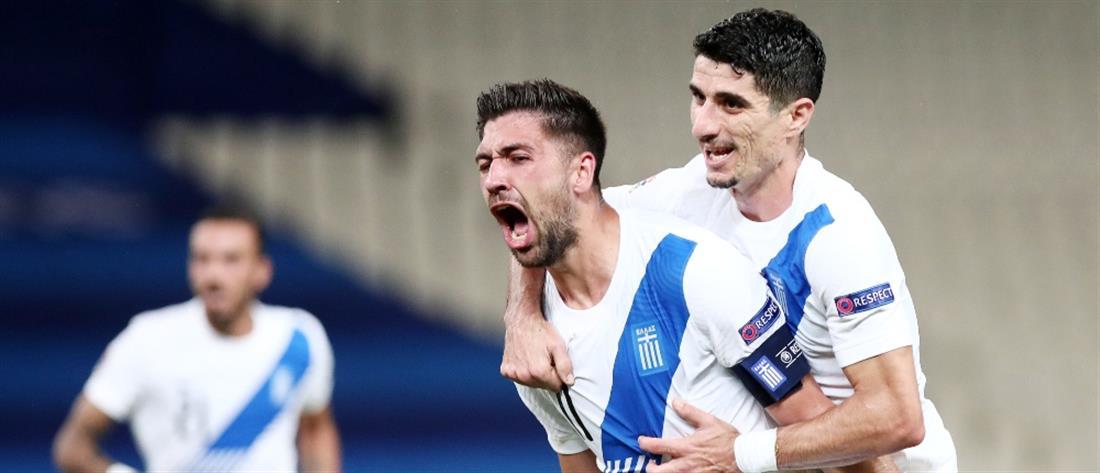 Nations League: Αήττητη συνεχίζει η Εθνική Ελλάδας