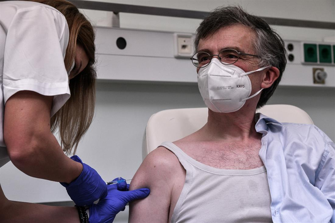 εμβολιασμός - Τσίοδρας - κορονοϊός