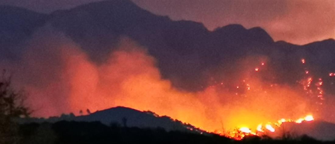 Φωτιές: Συναγερμός για τέσσερις περιοχές την Τετάρτη (χάρτης)