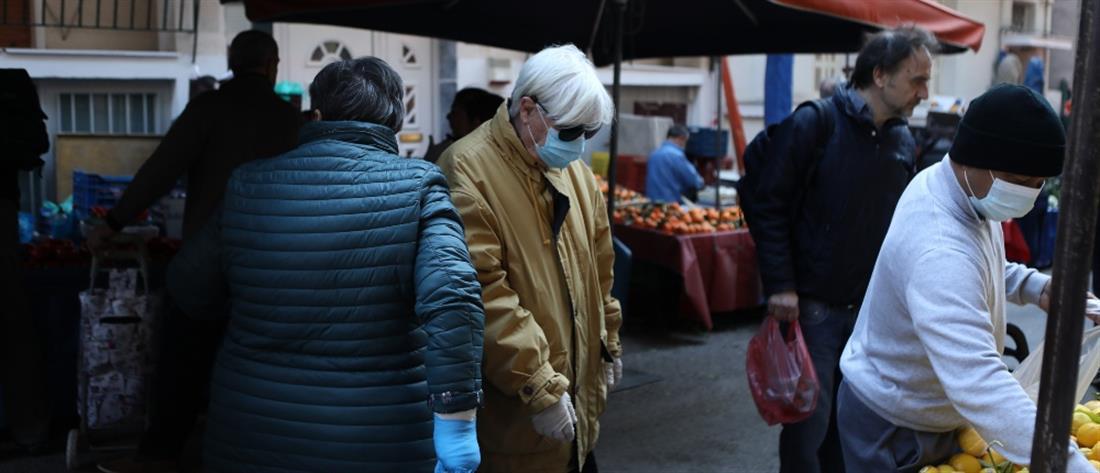 Λαϊκή Αγορά - Λαϊκές Αγορές - Κορονοίός