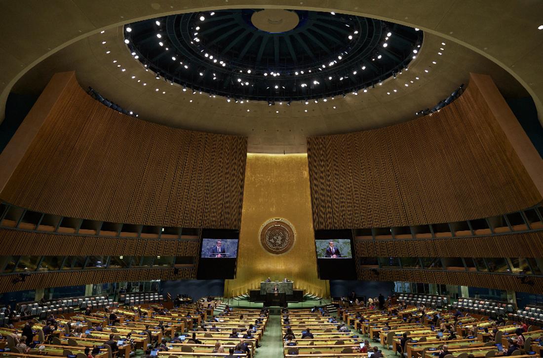 ΚΥΡΙΑΚΟΣ ΜΗΤΣΟΤΑΚΗΣ - ΓΕΝΙΚΗ ΣΥΝΕΛΕΥΣΗ ΟΗΕ
